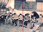 """Originele beschrijving foto: """"Georges Ghys + leerlingen"""" Aanvullingen en opmerkingen zijn meer dan welkom!"""