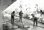 """Originele beschrijving foto: """"Links: Georges Ghys. Midden: Charles Beuckels. Rechts: Danny Ryckaert (anno 1989)"""". Opmerkingen en aanvullingen meer dan welkom!"""