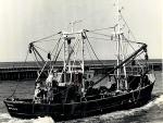 Z.591 Dageraad (Bouwjaar 1963) in haven Nieuwpoort