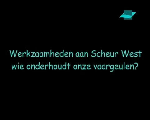 VIDEO: Baggerwerkzaamheden aan Scheur West. Wie onderhoudt onze vaargeulen?