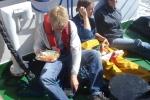 Lunch aan dek (23.08.2010). [cruise info]