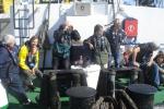 Bestuur Vereniging leraars Wetenschappen (VELEWE) mee op tocht met de Zeeleeuw voor een educatieve tocht (23.08.2010). [cruise info]