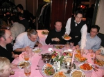 Picture of Magda Vincx, Pim van Avesaath, Christos Arvanitidis, Carlo Heip, the waiter and Brian Mckenzie