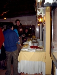 Picture of dessert buffet, workshop dinner
