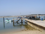 Picture of little boat trip from Tavira Island