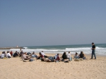 Picture of lunch at Tavira island