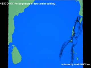 Animatie: tsunamigolf