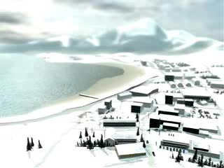 Animatie: tsunami run up