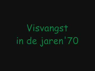 Vlaamse visserij in de jaren 70