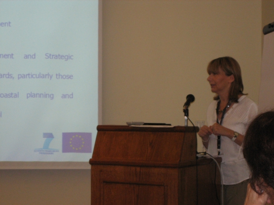 Presentation of Zeljka Skaricic on the ICZM protocol