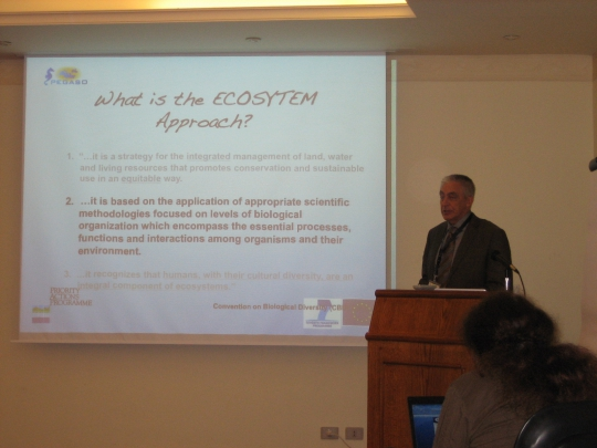 Presentation of Brian Shipman on ICZM implementation and the ecosystem approach