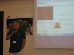 Stefano Soriani moderates the workshop