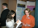 Picture during poster session