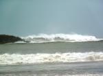 Becky storm in Santander