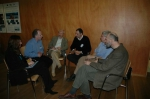 Picture of small group discussion