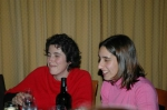 Picture of two ladies tasting the excellent Port wine. We'll see them later again..