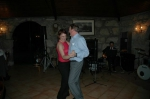 Picture of Carlo Heip dancing with the singer - brilliant!