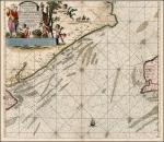 Nieuwe Pascaert bevattende in sich de kust van Vlaenderen