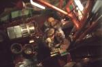 koken van de garnaalvangst aan boord van de N.782 Nancy