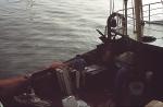 Proper maken van de visplanken na lossen van de vangst (N.738 Johan)