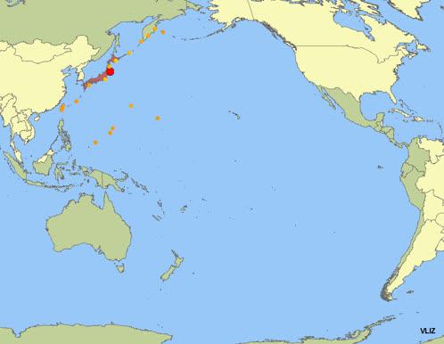 VLIZ website: Hot topics: Tsunami's