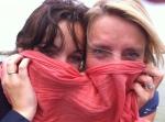 Emilia and Ann-Katrien