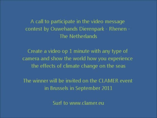 Calls to participate in the video message contest