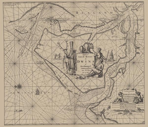 Van Keulen (1728, kaart 40)