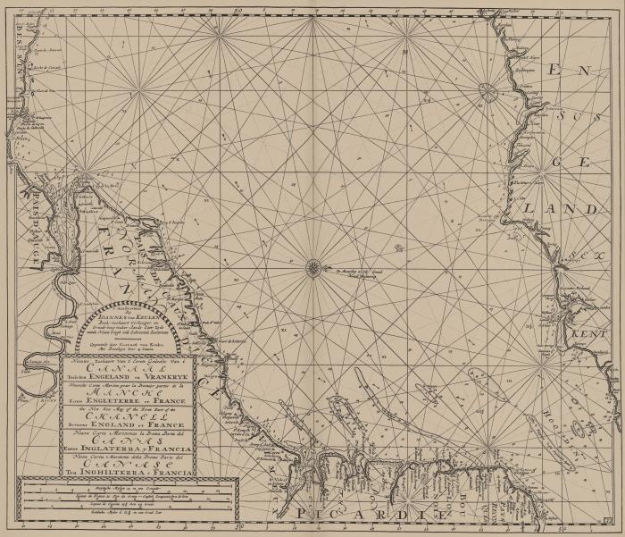 Van Keulen (1728, kaart 55)