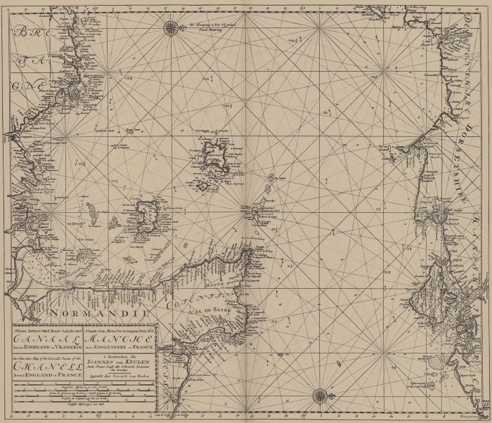 Van Keulen (1728, kaart 56)