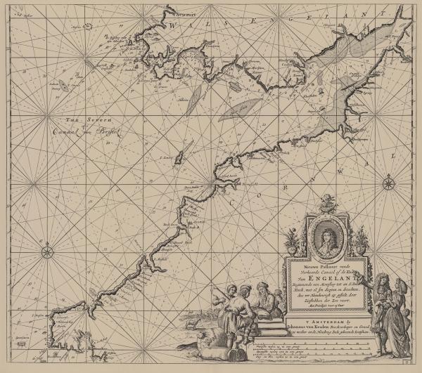 Van Keulen (1728, kaart 58)