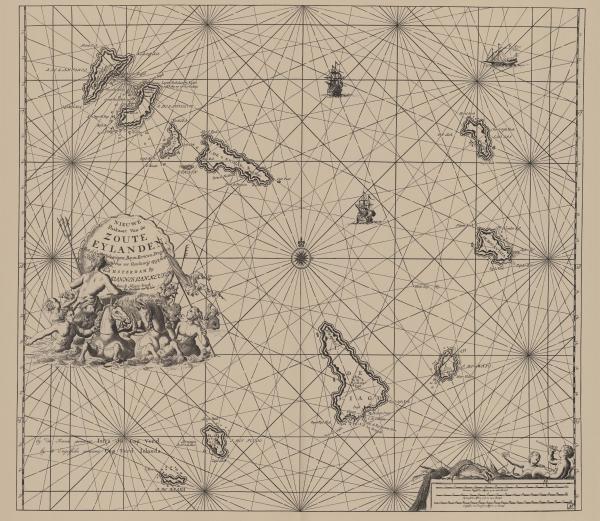 Van Keulen (1728, kaart 87)