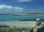 Panorama from Guthers island.