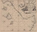 <B>Voogt, C.J.; van Keulen, G.</B> (1728). De Nieuwe Groote Ligtende Zee-Fakkel, 't derde deel. Vertoonende de Kusten van Granada, Catalonien, Provence, Italien, Dalmatien, Grieken, Thracien, Natolien, Syrien, Egypten, en de geheele Noordkust van Barbarye