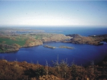Lough Hyne taken from the hills above the north shore