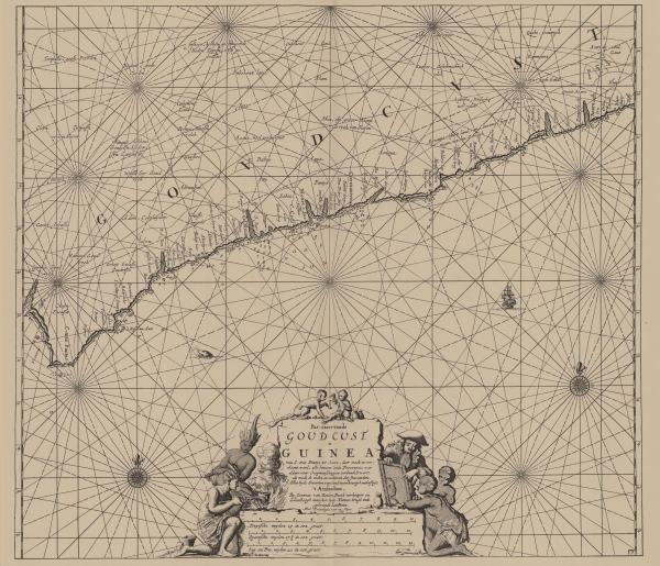 Van Keulen (1728, kaart 105)