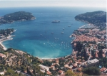 Rade de Villefranche-sur-mer (view from the North)