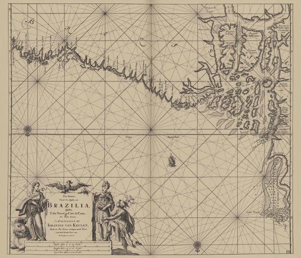 Van Keulen (1728, kaart 121)