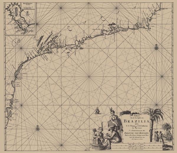Van Keulen (1728, kaart 129)
