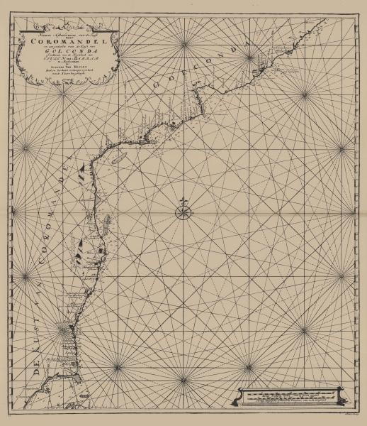 Van Keulen (1728, kaart 175)