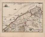 <B>Frix, E.H.; Harrewijn, J.</B> (1707). Carte particulière des environs de Bruges, Ostende, Damme, l'Ecluse et autres: Harrewijn fecit [KAART]. chez Eugene Henry Fricx ruë de la Madeleine: Bruxelles. 1 map pp.