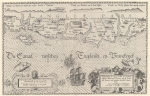 Waghenaer, L.J.; Skelton, R.A. (1964). Lucas Jansz Waghenaer Spieghel der Zeevaerdt Leyden 1584-1585. Theatrum Orbis Terrarum Series of Atlases in Facsimile, First series(Volume IV). Meridian Publishing/N. Israel: Amsterdam. XI, 23 maps, 5-4