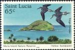 Saint Lucia, Maria Island