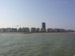 zicht op Oostende