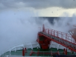 Polarstern in bad weather