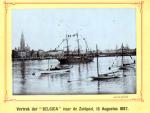 Vertrek van de Belgica uit Antwerpen (1897)