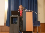 The participants are welcomed by Project Coordinator Barbara Zanuttigh.