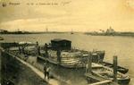 1905: Nieport, le chenal vers la mer