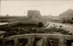 """Het oesterpark dat oorspronkelijk in 1922 aangelegd werd in Nieuwpoort door de """"N.V. Les Produits Maritimes"""", de firma van de familie Halewyck"""