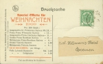 1909, Special Offerte fr Weihnachten